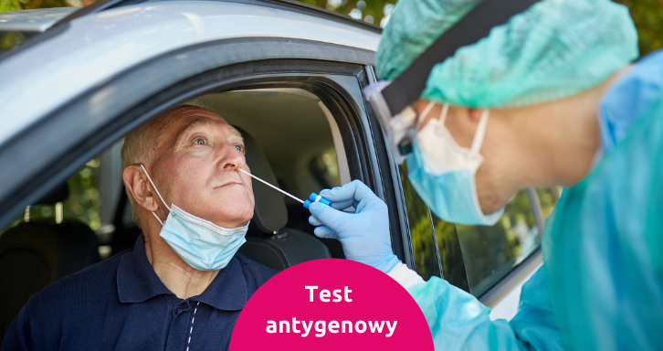 Testy antygenowe COVID-19